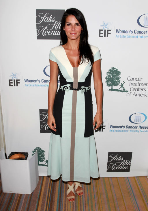 "<div class=""meta image-caption""><div class=""origin-logo origin-image ""><span></span></div><span class=""caption-text"">Angie Harmon appears at the EIF Womens Cancer Research Fund's 16th Annual 'An Unforgettable Evening' event, presented by Saks Fifth Avenue, at the Beverly Wilshire Four Seasons Hotel on May 2, 2013 in Beverly Hills, California. (Joe Scarnici / Getty Images for EIF)</span></div>"