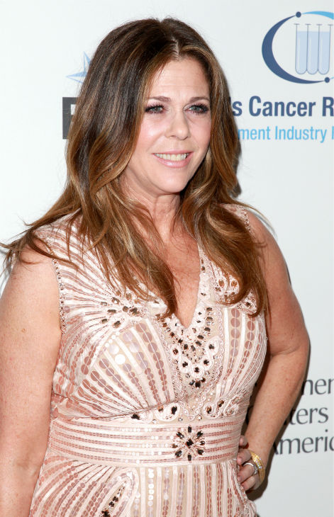 "<div class=""meta image-caption""><div class=""origin-logo origin-image ""><span></span></div><span class=""caption-text"">EIF Womens Cancer Research Fund honorary chair Rita Wilson appears at the group's 16th Annual 'An Unforgettable Evening' event, presented by Saks Fifth Avenue, at the Beverly Wilshire Four Seasons Hotel on May 2, 2013 in Beverly Hills, California. (Joe Scarnici / Getty Images for EIF)</span></div>"