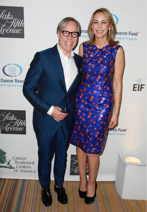 Designer Tommy Hilfiger &#40;L&#41; and Dee Hilfiger appear at the EIF Womens Cancer Research Fund&#39;s 16th Annual &#39;An Unforgettable Evening&#39; event, presented by Saks Fifth Avenue, at the Beverly Wilshire Four Seasons Hotel on May 2, 2013 in Beverly Hills, California. <span class=meta>(Joe Scarnici &#47; Getty Images for EIF)</span>