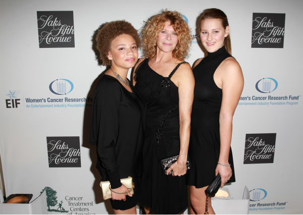 Steven Spielberg&#39;s wife Kate Capshaw &#40;C&#41;, and daughters Mikaela George Spielberg &#40;L&#41; and Destry Allyn Spielberg &#40;R&#41; appear at the EIF Womens Cancer Research Fund&#39;s 16th Annual &#39;An Unforgettable Evening&#39; event, presented by Saks Fifth Avenue, at the Beverly Wilshire Four Seasons Hotel on May 2, 2013 in Beverly Hills, California. <span class=meta>(Joe Scarnici &#47; Getty Images for EIF)</span>