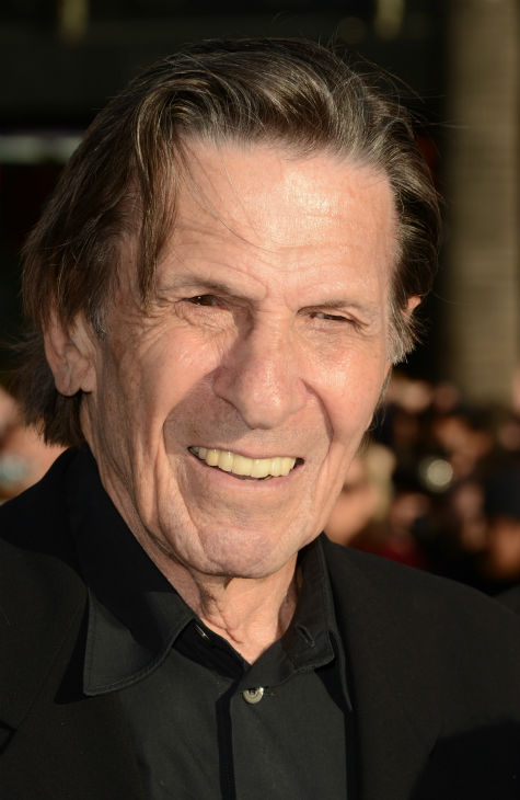Leonard Nimoy, 82, &#40;original Spock&#41; attends the premiere of Paramount Pictures&#39; &#39;Star Trek Into Darkness&#39; at the Dolby Theatre in Hollywood, California on May 14, 2013.  <span class=meta>(Kevin Winter &#47; Getty Images for Paramount Pictures)</span>