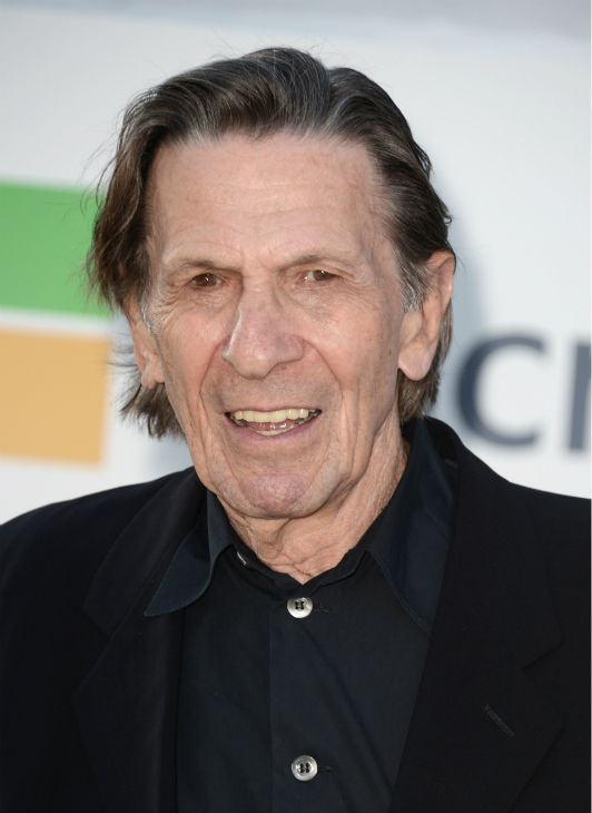 "<div class=""meta image-caption""><div class=""origin-logo origin-image ""><span></span></div><span class=""caption-text"">Leonard Nimoy, 82, (original Spock) attends the premiere of Paramount Pictures' 'Star Trek Into Darkness' at the Dolby Theatre in Hollywood, California on May 14, 2013.  (Kevin Winter / Getty Images for Paramount Pictures)</span></div>"