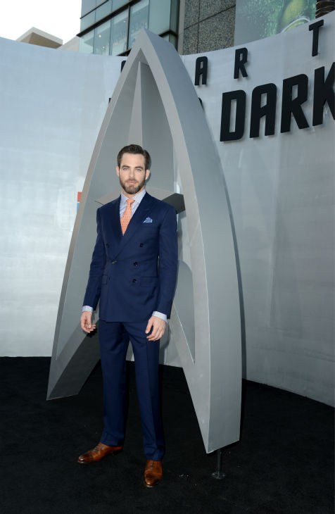 "<div class=""meta ""><span class=""caption-text "">Chris Pine (Kirk) attends the premiere of Paramount Pictures' 'Star Trek Into Darkness' at the Dolby Theatre in Hollywood, California on May 14, 2013.  (Kevin Winter / Getty Images for Paramount Pictures)</span></div>"