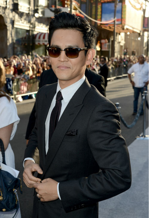 John Cho &#40;Sulu&#41; attends the premiere of Paramount Pictures&#39; &#39;Star Trek Into Darkness&#39; at the Dolby Theatre in Hollywood, California on May 14, 2013.  <span class=meta>(Kevin Winter &#47; Getty Images for Paramount Pictures)</span>