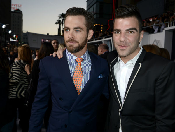 "<div class=""meta image-caption""><div class=""origin-logo origin-image ""><span></span></div><span class=""caption-text"">Chris Pine (Kirk) and Zachary Quinto (Spock) attend the premiere of Paramount Pictures' 'Star Trek Into Darkness' at the Dolby Theatre in Hollywood, California on May 14, 2013.  (Kevin Winter / Getty Images for Paramount Pictures)</span></div>"