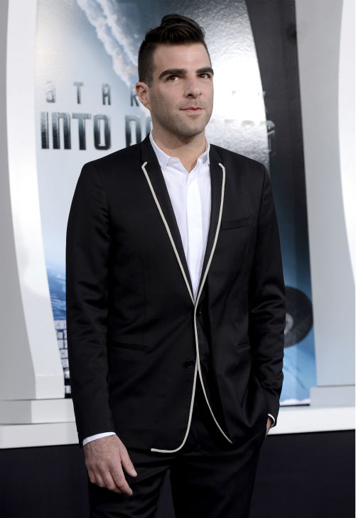 Zachary Quinto &#40;Spock&#41; attends the premiere of Paramount Pictures&#39; &#39;Star Trek Into Darkness&#39; at the Dolby Theatre in Hollywood, California on May 14, 2013.  <span class=meta>(Kevin Winter &#47; Getty Images for Paramount Pictures)</span>
