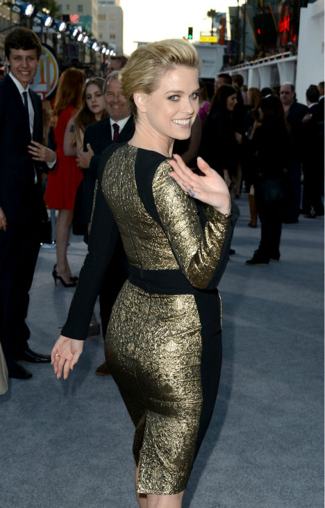 Alice Eve &#40;Carol&#41; attends the premiere of Paramount Pictures&#39; &#39;Star Trek Into Darkness&#39; at the Dolby Theatre in Hollywood, California on May 14, 2013. <span class=meta>(Kevin Winter &#47; Getty Images for Paramount Pictures)</span>