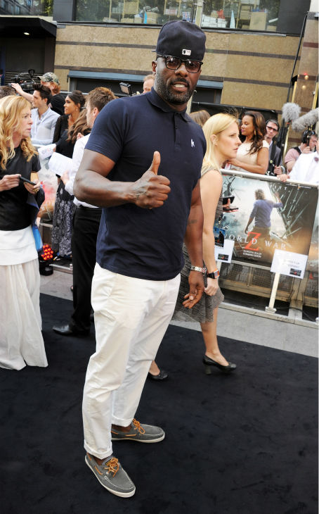 Actor Idris Elba Cast attends the world premiere of &#39;World War Z&#39; at the Empire Cinema Leicester Square in London on June 2, 2013. <span class=meta>(Dave M. Benett &#47; WireImage for Paramount)</span>