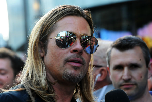 Cast member Brad Pitt attends the world premiere of &#39;World War Z&#39; at the Empire Cinema Leicester Square in London on June 2, 2013. <span class=meta>(Stuart C. Wilson &#47; Getty Images for Paramount Pictures International)</span>