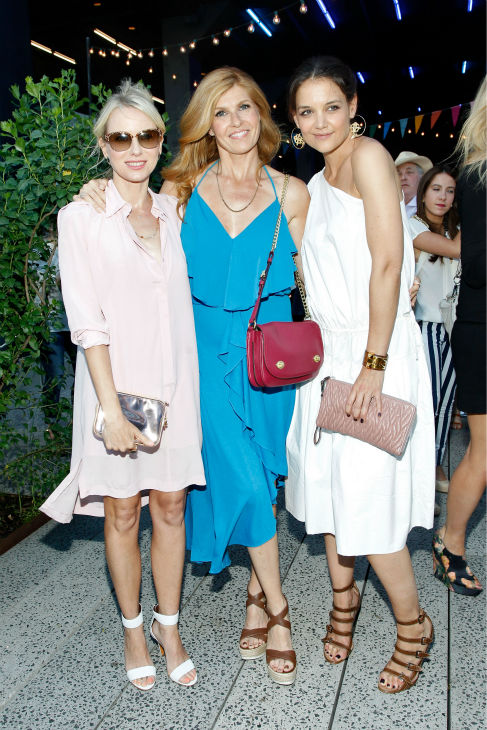 Katie Holmes, Naomi Watts and Connie Britton &#40;&#39;Nashville&#39;&#41; attend Summer Party on The Highline, presented by Coach at High Line Park in New York City on June 11, 2013. <span class=meta>(Brian Ach &#47; Getty Images for COACH)</span>