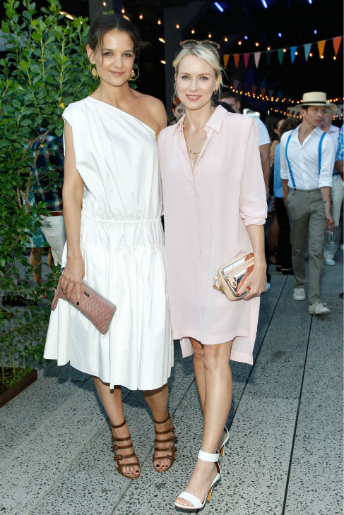 Katie Holmes and Naomi Watts attend Summer Party on The Highline, presented by Coach at High Line Park in New York City on June 11, 2013. <span class=meta>(Brian Ach &#47; Getty Images for COACH)</span>