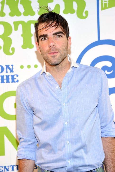 "<div class=""meta ""><span class=""caption-text "">Zachary Quinto ('Star Trek') attends Summer Party on The Highline, presented by Coach at High Line Park in New York City on June 11, 2013. (Stephen Lovekin / Getty Images for COACH)</span></div>"
