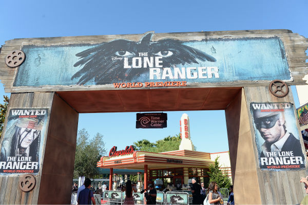 A scene from the world premiere of Disney&#47;Jerry Bruckheimer Films&#39; &#39;The Lone Ranger&#39; at Disney California Adventure Park in Disneyland in Anaheim, California on June 22, 2013. <span class=meta>(Michael Buckner &#47; WireImage &#47; Walt Disney Company)</span>