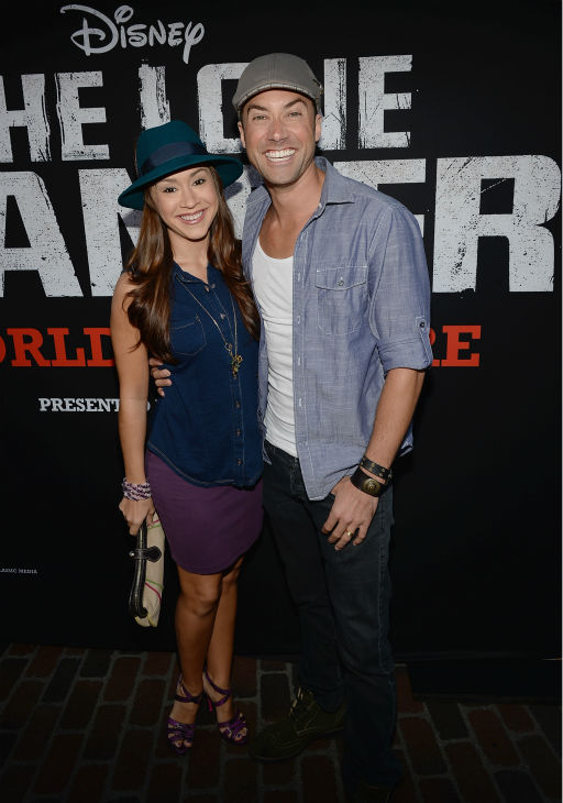 "<div class=""meta ""><span class=""caption-text "">'American Idol' alums and newlyweds Diana DeGarmo and Ace Young attend the world premiere of Disney/Jerry Bruckheimer Films' 'The Lone Ranger' at Disney California Adventure Park in Disneyland in Anaheim, California on June 22, 2013. The two wed on June 1. (Michael Buckner / WireImage / Walt Disney Company)</span></div>"