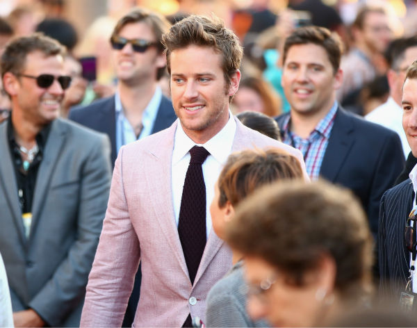 Cast member Armie Hammer attends the world premiere of Disney&#47;Jerry Bruckheimer Films&#39; &#39;The Lone Ranger&#39; at Disney California Adventure Park in Disneyland in Anaheim, California on June 22, 2013. <span class=meta>(Christopher Polk &#47; WireImage &#47; Walt Disney Company)</span>