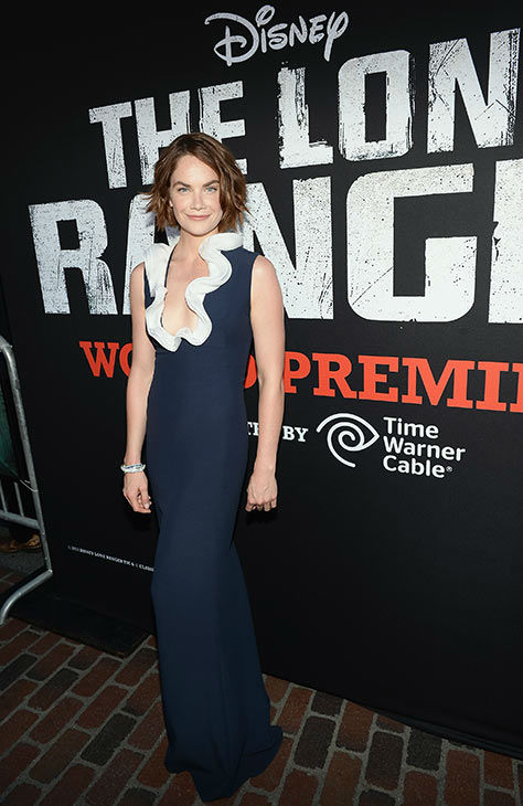 "<div class=""meta ""><span class=""caption-text "">Cast member Ruth Wilson attends the world premiere of Disney/Jerry Bruckheimer Films' 'The Lone Ranger' at Disney California Adventure Park in Disneyland in Anaheim, California on June 22, 2013. (Michael Buckner / WireImage / Walt Disney Company)</span></div>"