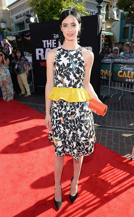 "<div class=""meta ""><span class=""caption-text "">Krysten Ritter (formerly of ABC's 'Don't Trust The B---- In Apt. 23,' 'Veronica Mars') attends the world premiere of Disney/Jerry Bruckheimer Films' 'The Lone Ranger' at Disney California Adventure Park in Disneyland in Anaheim, California on June 22, 2013. (Michael Buckner /  WireImage / Walt Disney Company)</span></div>"