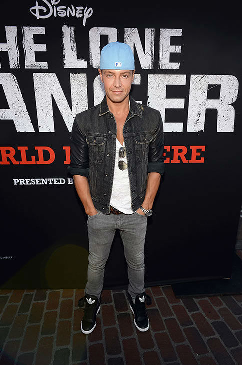 "<div class=""meta ""><span class=""caption-text "">Joey Lawrence (of ABC Family's 'Melissa and Joey,' host of ABC's 'Splash' and formerly of the show 'Blossom') attends the world premiere of Disney/Jerry Bruckheimer Films' 'The Lone Ranger' at Disney California Adventure Park in Disneyland in Anaheim, California on June 22, 2013. (Michael Buckner /  WireImage / Walt Disney Company)</span></div>"