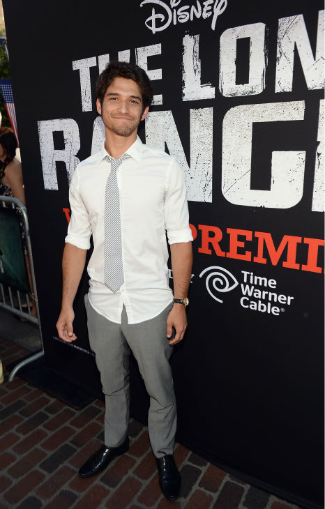 "<div class=""meta ""><span class=""caption-text "">Tyler Posey of MTV's 'Teen Wolf' attends the world premiere of Disney/Jerry Bruckheimer Films' 'The Lone Ranger' at Disney California Adventure Park in Disneyland in Anaheim, California on June 22, 2013. (Michael Buckner / WireImage / Walt Disney Company)</span></div>"