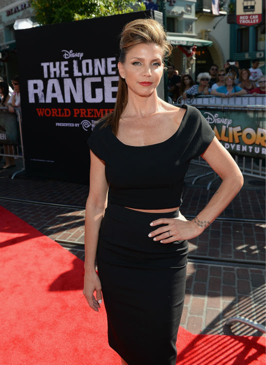 Charisma Carpenter of ABC Family&#39;s ABC Family&#39; and formerly of &#39;Buffy The Vampire Slayer&#39; attends the world premiere of Disney&#47;Jerry Bruckheimer Films&#39; &#39;The Lone Ranger&#39; at Disney California Adventure Park in Disneyland in Anaheim, California on June 22, 2013. <span class=meta>(Michael Buckner &#47; WireImage &#47; Walt Disney Company)</span>