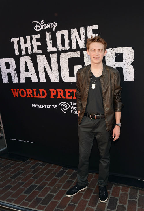 "<div class=""meta ""><span class=""caption-text "">Dylan Riley Snyder of the Disney XD series 'Kickin' It' attends the world premiere of Disney/Jerry Bruckheimer Films' 'The Lone Ranger' at Disney California Adventure Park in Disneyland in Anaheim, California on June 22, 2013. (Michael Buckner / WireImage / Walt Disney Company)</span></div>"
