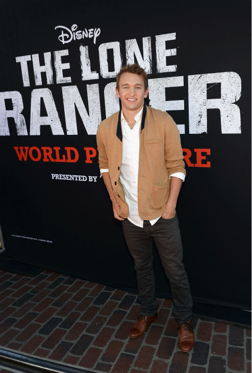 "<div class=""meta image-caption""><div class=""origin-logo origin-image ""><span></span></div><span class=""caption-text"">Kent Boyd of ABC Family's 'Bunheads' attends the world premiere of Disney/Jerry Bruckheimer Films' 'The Lone Ranger' at Disney California Adventure Park in Disneyland in Anaheim, California on June 22, 2013. (Michael Buckner / WireImage / Walt Disney Company)</span></div>"