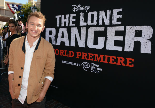 "<div class=""meta ""><span class=""caption-text "">Kent Boyd of ABC Family's 'Bunheads' attends the world premiere of Disney/Jerry Bruckheimer Films' 'The Lone Ranger' at Disney California Adventure Park in Disneyland in Anaheim, California on June 22, 2013. (Michael Buckner / WireImage / Walt Disney Company)</span></div>"