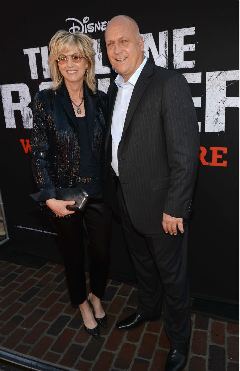Former pro baseball player Cal Ripken Jr. and wife Kelly Ripken attend the world premiere of Disney&#47;Jerry Bruckheimer Films&#39; &#39;The Lone Ranger&#39; at Disney California Adventure Park in Disneyland in Anaheim, California on June 22, 2013. <span class=meta>(Michael Buckner &#47; WireImage &#47; Walt Disney Company)</span>