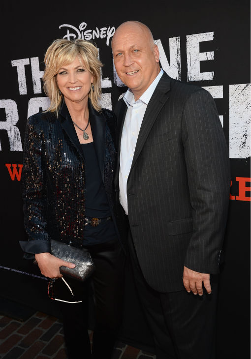 "<div class=""meta ""><span class=""caption-text "">Former pro baseball player Cal Ripken Jr. and wife Kelly Ripken attend the world premiere of Disney/Jerry Bruckheimer Films' 'The Lone Ranger' at Disney California Adventure Park in Disneyland in Anaheim, California on June 22, 2013. (Michael Buckner / WireImage / Walt Disney Company)</span></div>"