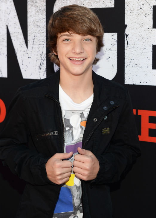 "<div class=""meta image-caption""><div class=""origin-logo origin-image ""><span></span></div><span class=""caption-text"">Jake Short of the Disney Channel series 'A.N.T. Farm' attends the world premiere of Disney/Jerry Bruckheimer Films' 'The Lone Ranger' at Disney California Adventure Park in Disneyland in Anaheim, California on June 22, 2013. (Michael Buckner / WireImage / Walt Disney Company)</span></div>"