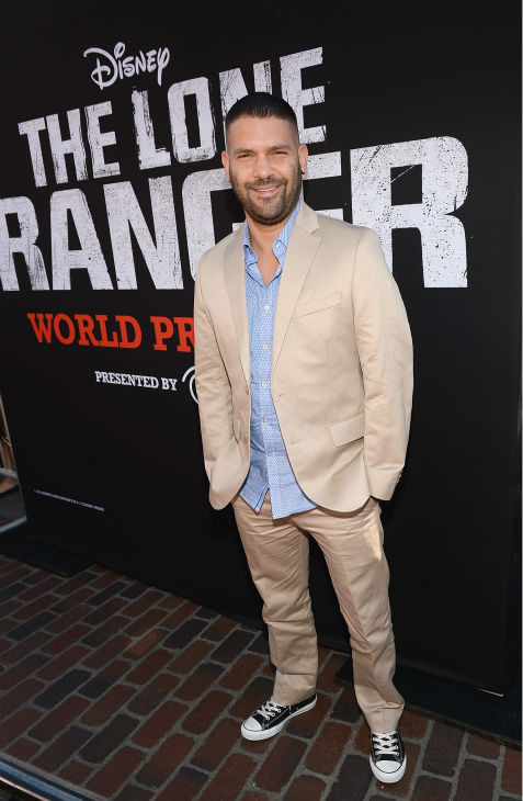 "<div class=""meta image-caption""><div class=""origin-logo origin-image ""><span></span></div><span class=""caption-text"">Guillermo Diaz of ABC's 'Scandal' attends the world premiere of Disney/Jerry Bruckheimer Films' 'The Lone Ranger' at Disney California Adventure Park in Disneyland in Anaheim, California on June 22, 2013. (Michael Buckner / WireImage / Walt Disney Company)</span></div>"