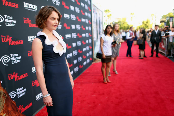 "<div class=""meta image-caption""><div class=""origin-logo origin-image ""><span></span></div><span class=""caption-text"">Cast member Ruth Wilson attends the world premiere of Disney/Jerry Bruckheimer Films' 'The Lone Ranger' at Disney California Adventure Park in Disneyland in Anaheim, California on June 22, 2013. (Christopher Polk / WireImage / Walt Disney Company)</span></div>"