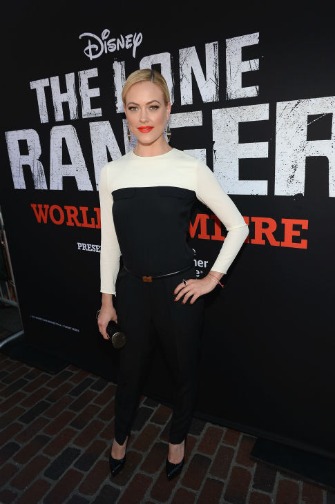 "<div class=""meta ""><span class=""caption-text "">Peta Murgatroyd of ABC's 'Dancing With The Stars' attends the world premiere of Disney/Jerry Bruckheimer Films' 'The Lone Ranger' at Disney California Adventure Park in Disneyland in Anaheim, California on June 22, 2013. (Michael Buckner / WireImage / Walt Disney Company)</span></div>"