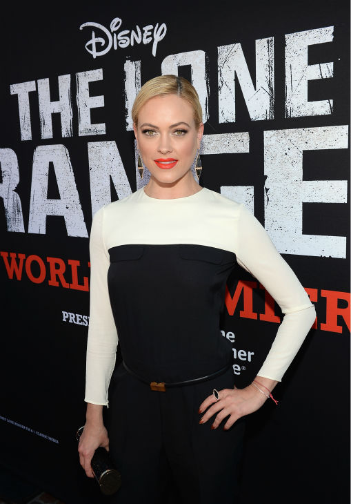 Peta Murgatroyd of ABC&#39;s &#39;Dancing With The Stars&#39; attends the world premiere of Disney&#47;Jerry Bruckheimer Films&#39; &#39;The Lone Ranger&#39; at Disney California Adventure Park in Disneyland in Anaheim, California on June 22, 2013. <span class=meta>(Michael Buckner &#47; WireImage &#47; Walt Disney Company)</span>