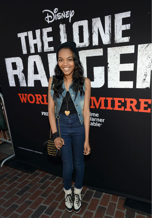 China Anne McClain of the Disney Channel series &#39;A.N.T. Farm&#39; attends the world premiere of Disney&#47;Jerry Bruckheimer Films&#39; &#39;The Lone Ranger&#39; at Disney California Adventure Park in Disneyland in Anaheim, California on June 22, 2013. <span class=meta>(Michael Buckner &#47; WireImage &#47; Walt Disney Company)</span>
