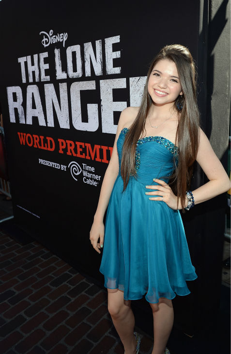 Jadin Gould &#40;Lana Lang in the 2013 film &#39;Man of Steel&#39;&#41; attends the world premiere of Disney&#47;Jerry Bruckheimer Films&#39; &#39;The Lone Ranger&#39; at Disney California Adventure Park in Disneyland in Anaheim, California on June 22, 2013. <span class=meta>(Michael Buckner &#47; WireImage &#47; Walt Disney Company)</span>