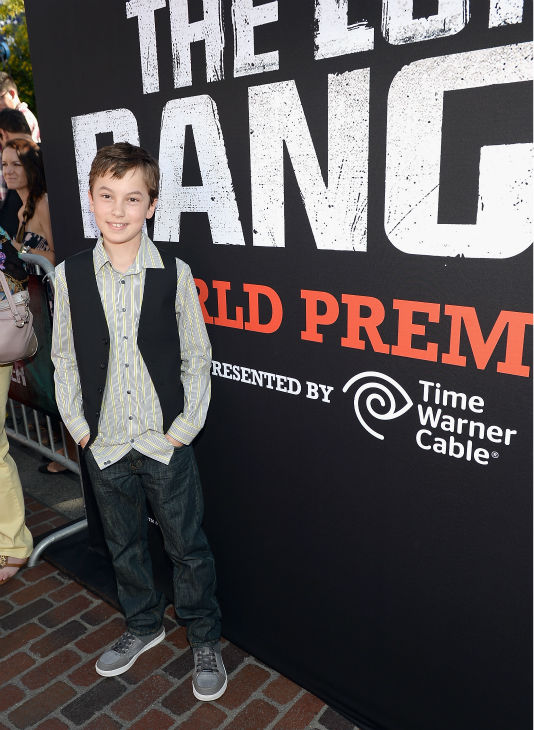 Hayden Byerly of ABC Family&#39;s &#39;The Fosters&#39; attends the world premiere of Disney&#47;Jerry Bruckheimer Films&#39; &#39;The Lone Ranger&#39; at Disney California Adventure Park in Disneyland in Anaheim, California on June 22, 2013. <span class=meta>(Michael Buckner &#47; WireImage &#47; Walt Disney Company)</span>