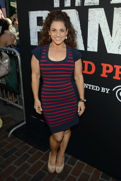 Marissa Jaret Winokur &#40;of Broadway&#39;s &#39;Hairspray,&#39; TV Land&#39;s &#39;Retired at 35&#39;&#41; attends the world premiere of Disney&#47;Jerry Bruckheimer Films&#39; &#39;The Lone Ranger&#39; at Disney California Adventure Park in Disneyland in Anaheim, California on June 22, 2013. <span class=meta>(Michael Buckner &#47; WireImage &#47; Walt Disney Company)</span>
