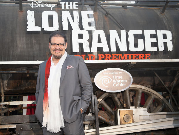 Cast member Joaquin Cosio attends the world premiere of Disney&#47;Jerry Bruckheimer Films&#39; &#39;The Lone Ranger&#39; at Disney California Adventure Park in Disneyland in Anaheim, California on June 22, 2013. <span class=meta>(Christopher Polk &#47; WireImage &#47; Walt Disney Company)</span>
