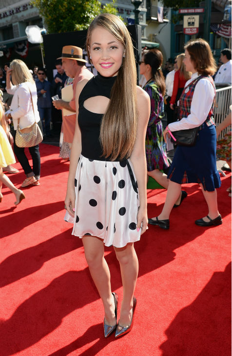 Kelli Berglund of the Disney XD series &#39;Lab Rats&#39; attends the world premiere of Disney&#47;Jerry Bruckheimer Films&#39; &#39;The Lone Ranger&#39; at Disney California Adventure Park in Disneyland in Anaheim, California on June 22, 2013. <span class=meta>(Christopher Polk &#47; WireImage &#47; Walt Disney Company)</span>
