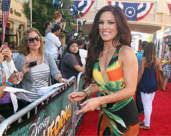 "<div class=""meta image-caption""><div class=""origin-logo origin-image ""><span></span></div><span class=""caption-text"">Sharna Burgess of ABC's 'Dancing With The Stars' attends the world premiere of Disney/Jerry Bruckheimer Films' 'The Lone Ranger' at Disney California Adventure Park in Disneyland in Anaheim, California on June 22, 2013. (Christopher Polk / WireImage / Walt Disney Company)</span></div>"