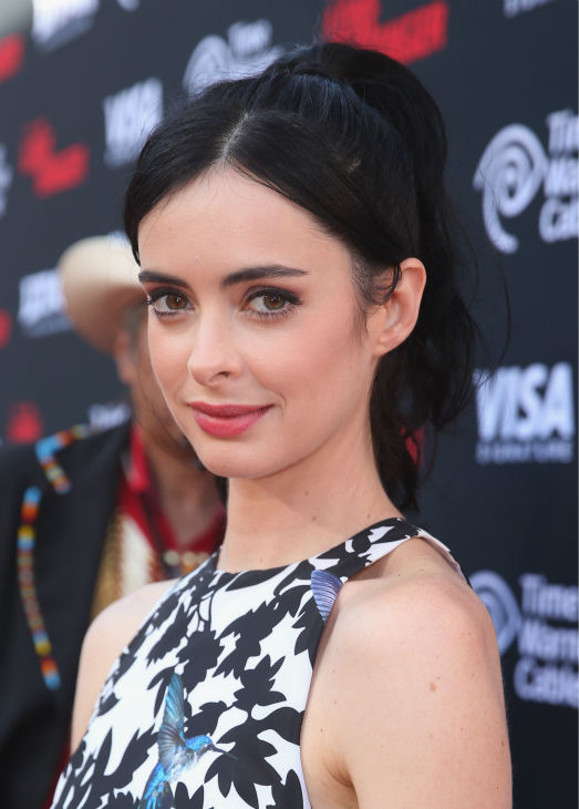 "<div class=""meta ""><span class=""caption-text "">Krysten Ritter (formerly of ABC's 'Don't Trust The B---- In Apt. 23,' 'Veronica Mars') attends the world premiere of Disney/Jerry Bruckheimer Films' 'The Lone Ranger' at Disney California Adventure Park in Disneyland in Anaheim, California on June 22, 2013. (Christopher Polk / WireImage / Walt Disney Company)</span></div>"