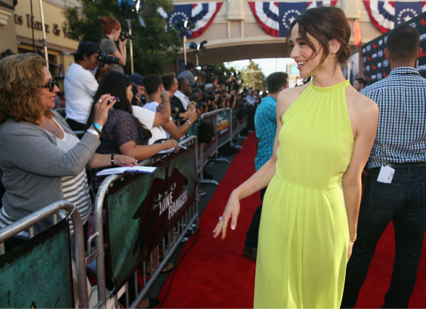 Crystal Reed of MTV&#39;s &#39;Teen Wolf&#39; attends the world premiere of Disney&#47;Jerry Bruckheimer Films&#39; &#39;The Lone Ranger&#39; at Disney California Adventure Park in Disneyland in Anaheim, California on June 22, 2013. <span class=meta>(Christopher Polk &#47; WireImage &#47; Walt Disney Company)</span>