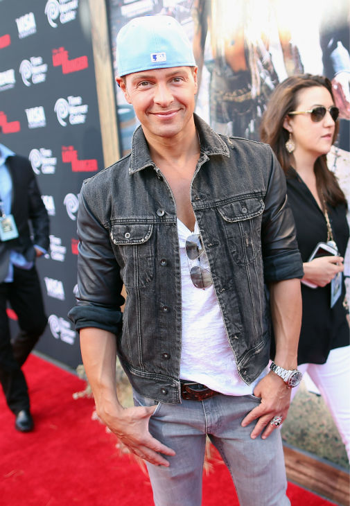 "<div class=""meta ""><span class=""caption-text "">Joey Lawrence (of ABC Family's 'Melissa and Joey,' host of ABC's 'Splash' and formerly of the show 'Blossom') attends the world premiere of Disney/Jerry Bruckheimer Films' 'The Lone Ranger' at Disney California Adventure Park in Disneyland in Anaheim, California on June 22, 2013. (Christopher Polk / WireImage / Walt Disney Company)</span></div>"