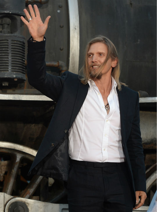 "<div class=""meta ""><span class=""caption-text "">Cast member Barry Pepper attends the world premiere of Disney/Jerry Bruckheimer Films' 'The Lone Ranger' at Disney California Adventure Park in Disneyland in Anaheim, California on June 22, 2013. (Michael Buckner / WireImage / Walt Disney Company)</span></div>"