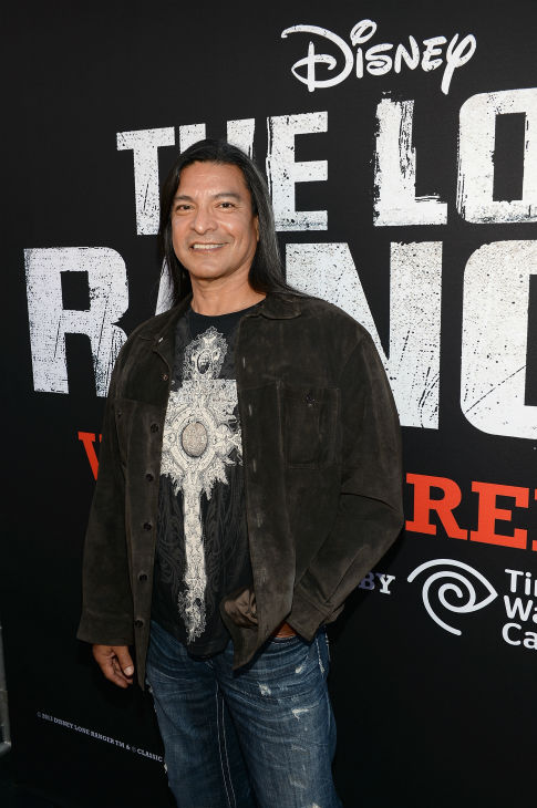 Gil Birmingham of the &#39;Twilight&#39; films and the ABC Family series &#39;The Lying Game&#39; attends the world premiere of Disney&#47;Jerry Bruckheimer Films&#39; &#39;The Lone Ranger&#39; at Disney California Adventure Park in Disneyland in Anaheim, California on June 22, 2013. <span class=meta>(Michael Buckner &#47; WireImage &#47; Walt Disney Company)</span>