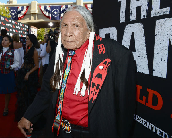 Cast member Saginaw Grant attends the world premiere of Disney&#47;Jerry Bruckheimer Films&#39; &#39;The Lone Ranger&#39; at Disney California Adventure Park in Disneyland in Anaheim, California on June 22, 2013. <span class=meta>(Michael Buckner &#47; WireImage &#47; Walt Disney Company)</span>