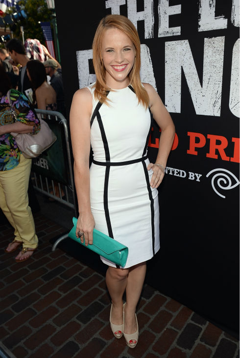 Katie Leclerc of the ABC Family series &#39;Switched At Birth&#39; attends the world premiere of Disney&#47;Jerry Bruckheimer Films&#39; &#39;The Lone Ranger&#39; at Disney California Adventure Park in Disneyland in Anaheim, California on June 22, 2013. <span class=meta>(Michael Buckner &#47; WireImage &#47; Walt Disney Company)</span>