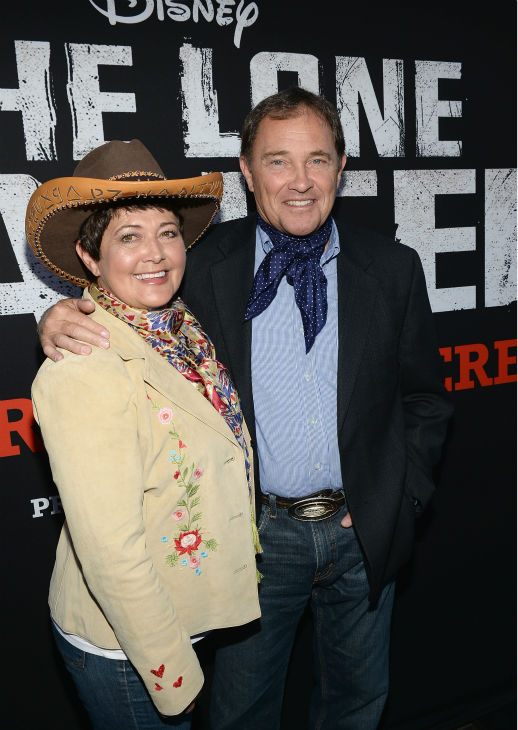 Utah Governor Gary R. Herbert &#40;R&#41; and wife Jeanette Herbert attend the world premiere of Disney&#47;Jerry Bruckheimer Films&#39; &#39;The Lone Ranger&#39; at Disney California Adventure Park in Disneyland in Anaheim, California on June 22, 2013. <span class=meta>(Michael Buckner &#47; WireImage &#47; Walt Disney Company)</span>