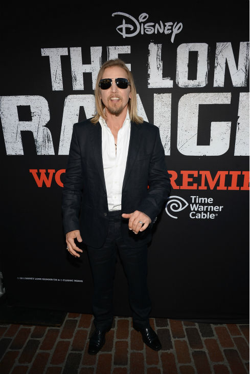 Cast member Barry Pepper attends the world premiere of Disney&#47;Jerry Bruckheimer Films&#39; &#39;The Lone Ranger&#39; at Disney California Adventure Park in Disneyland in Anaheim, California on June 22, 2013. <span class=meta>(Michael Buckner &#47; WireImage &#47; Walt Disney Company)</span>